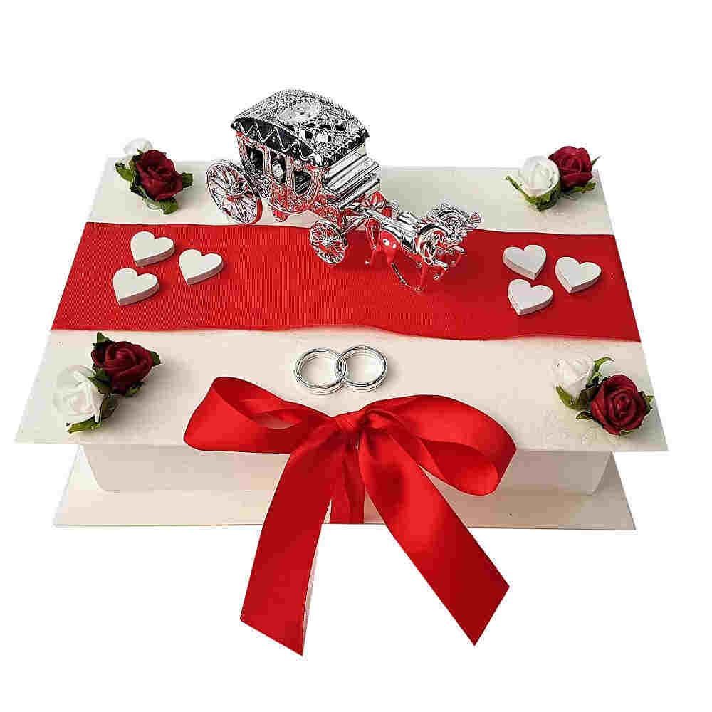 Romantische Geschenkbox Zur Hochzeit Mit Kutsche
