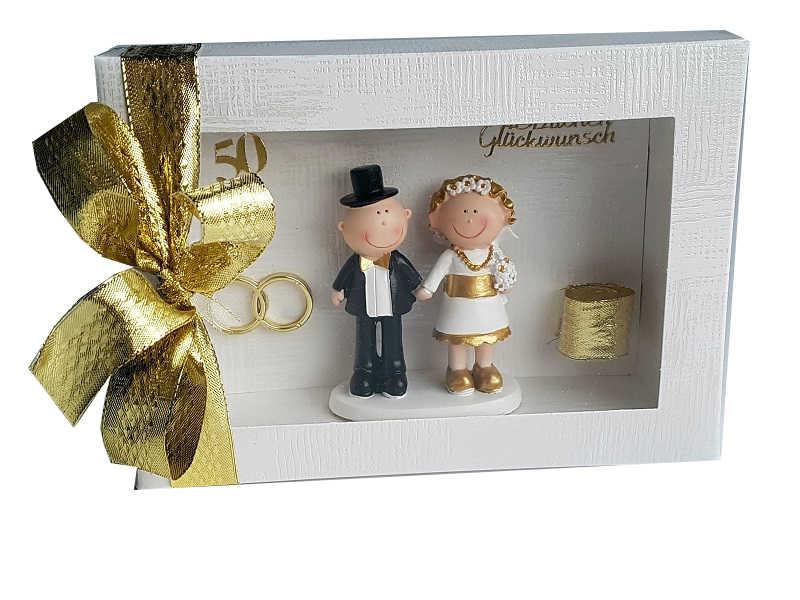 Geldgeschenk Zur Goldenen Hochzeit In Einer Box