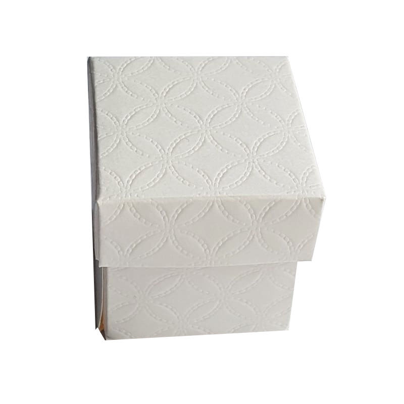 Box mit Deckel,quadratisch,5cm, Gastgeschenke verpacken