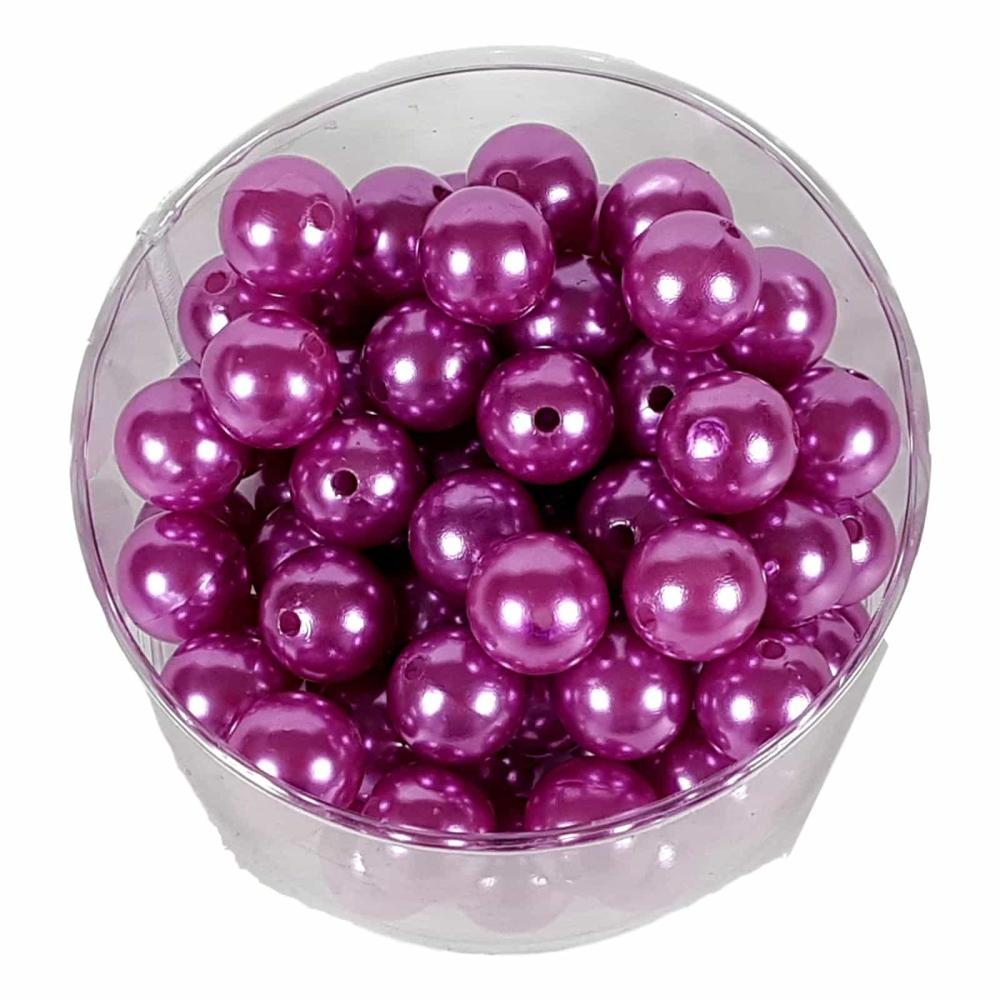 Perlen soft violett 20mm